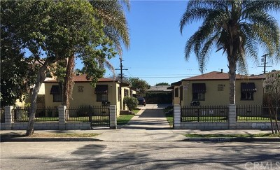 Compton Multi Family Home For Sale: 1008 N Burris Avenue