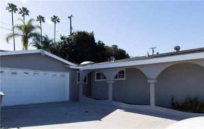 La Habra Single Family Home For Sale: 120 W Lambert Road