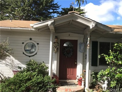 Cayucos Single Family Home For Sale: 41 13th