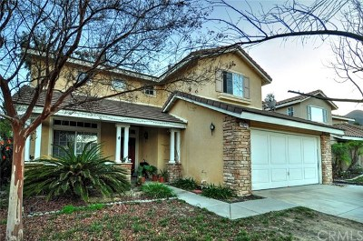 Corona Single Family Home For Sale: 27428 Eagles Nest Drive