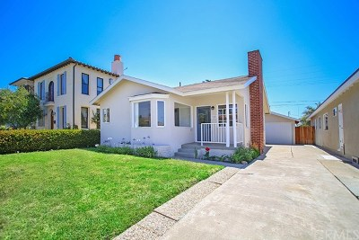 San Clemente Single Family Home Active Under Contract: 159 W Avenida Cornelio
