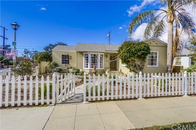 Alamitos Heights (Ah) Single Family Home Active Under Contract: 601 Manila Avenue