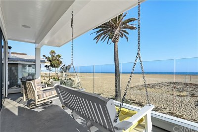Newport Beach Rental For Rent: 814 W Oceanfront