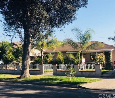 Santa Ana Single Family Home For Sale: 2119 Oak Street