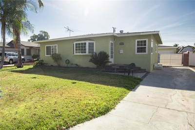 Whittier Single Family Home Active Under Contract: 16452 Lashburn Street