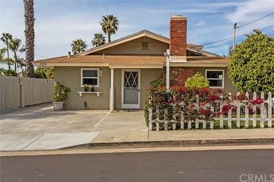 San Clemente Single Family Home For Sale: 105 Avenida Pala