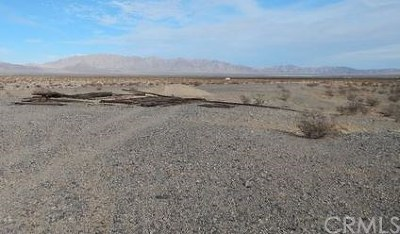 Barstow Residential Lots & Land For Sale: 56053 S 1/2 N 1/2 Sec 17 Tp 10n R 2w