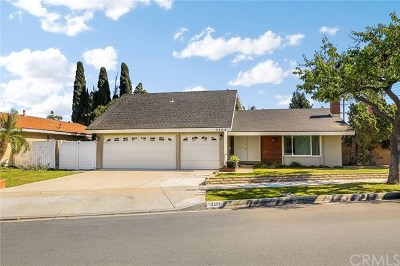Santa Ana Single Family Home For Sale: 3509 S Ross Street