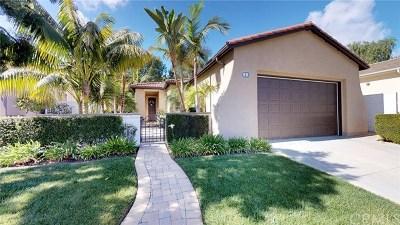 San Clemente Single Family Home For Sale: 3 Corte Sagrada