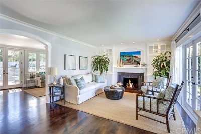 Newport Beach Single Family Home For Sale: 2596 Crestview Drive