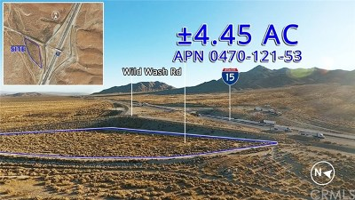 Residential Lots & Land For Sale: Wild Wash Road