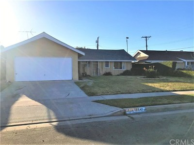 Fountain Valley Single Family Home For Sale: 18641 Redwood Street