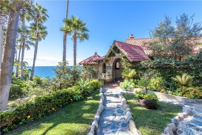 Laguna Beach Single Family Home For Sale: 2529 South Coast Hwy