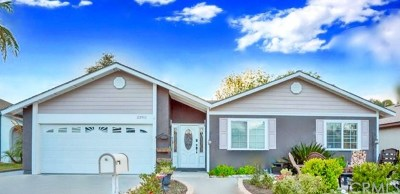 Mission Viejo Single Family Home For Sale: 23911 Via El Rocio