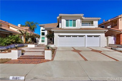 Anaheim Hills Single Family Home For Sale: 8161 E Marblehead Way