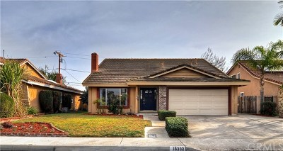 Fountain Valley Single Family Home For Sale: 16302 Mount Nimbus Street