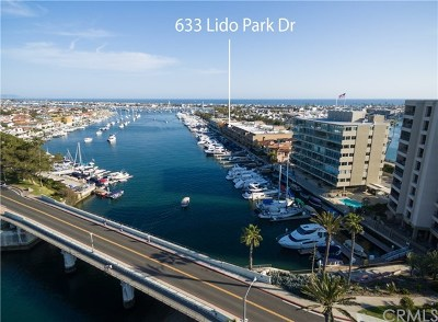 Newport Beach, Newport Coast, Corona Del Mar Condo/Townhouse For Sale: 633 Lido Park Drive #18