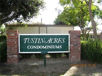 Tustin Condo/Townhouse For Sale: 646 W Main Street #C