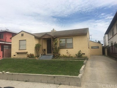 Hawthorne Multi Family Home For Sale: 11846 Acacia Avenue