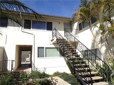 Santa Barbara County Condo/Townhouse For Sale: 7560 Cathedral Oaks Road #11