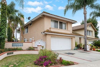 Laguna Hills Single Family Home Active Under Contract: 26305 Rosa Street