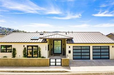 Laguna Beach Single Family Home For Sale: 1539 Caribbean Way