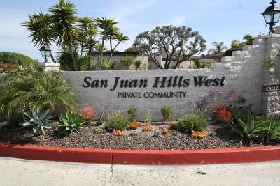San Juan Capistrano Single Family Home For Sale: 27111 Calle Caballero #A