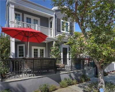 Newport Beach Single Family Home For Sale: 127 Pearl Avenue