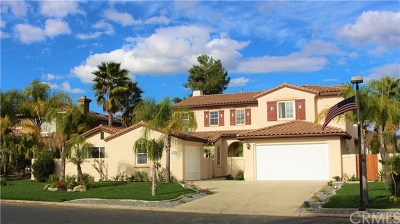 Murrieta Single Family Home For Sale: 22932 Banbury Court