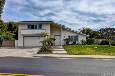 Mission Viejo Single Family Home For Sale: 25382 Pericia Drive