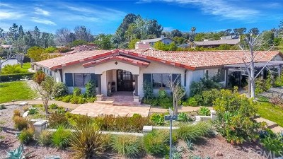 Single Family Home For Sale: 26391 Via Alano