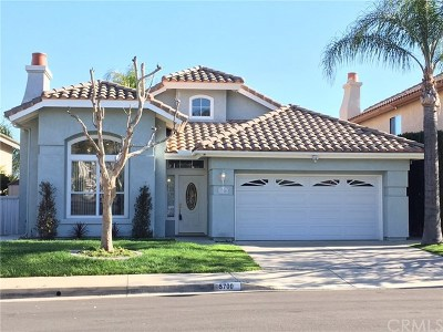Yorba Linda Rental For Rent: 5700 Picasso Drive