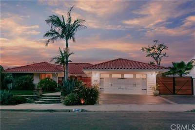 Laguna Niguel Single Family Home For Sale: 29461 Via San Sebastian