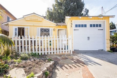 San Clemente Single Family Home For Sale: 122 Chiquita