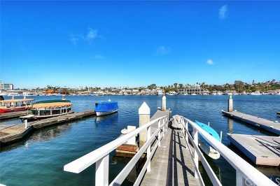 Newport Beach Single Family Home For Sale: 118 Via Lido Nord