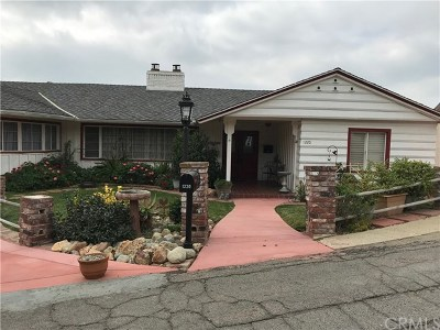 Pomona Single Family Home For Sale: 1220 Canyon Wy