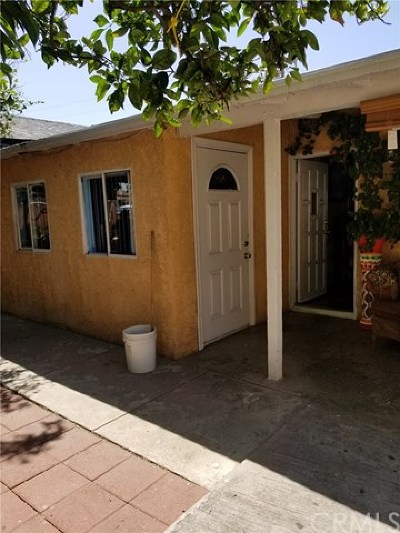 El Monte Single Family Home For Sale: 11502 Fennell Street