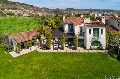 Newport Coast Single Family Home Active Under Contract: 1 Coral Cay