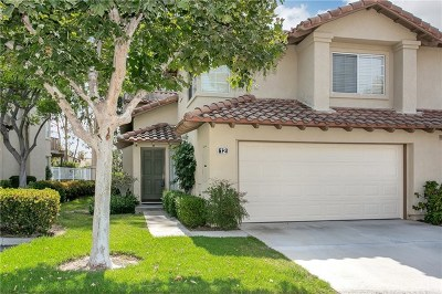 Rancho Santa Margarita Condo/Townhouse For Sale: 12 Cascada