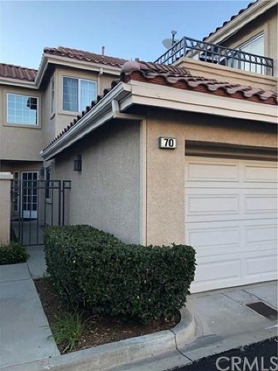 Rancho Santa Margarita Condo/Townhouse For Sale: 70 Morning Glory