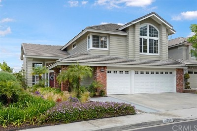 Rancho Santa Margarita Single Family Home For Sale: 21261 Pinebluff Drive