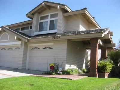 Mission Viejo Single Family Home For Sale: 26634 Sierra Vista