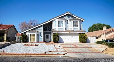 Victorville Single Family Home For Sale: 18110 Pebble Beach Drive