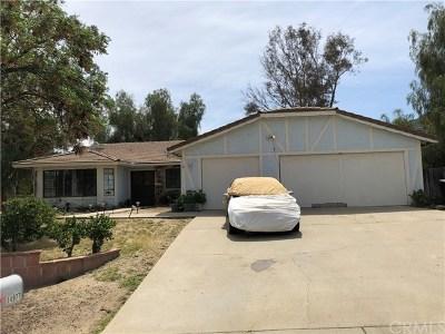 Lake Elsinore Single Family Home For Sale: 14977 Amorose Street