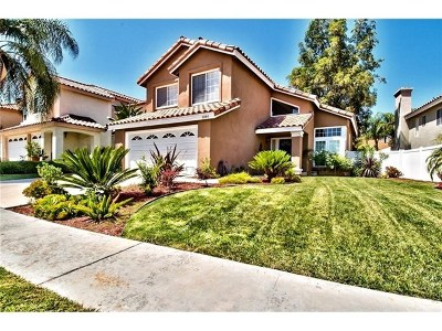 Corona Single Family Home For Sale: 1084 Vista Lomas Lane