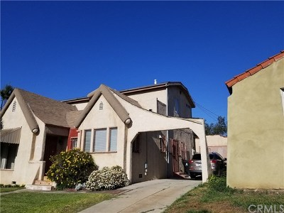 Los Angeles Single Family Home For Sale: 7004 5th Avenue