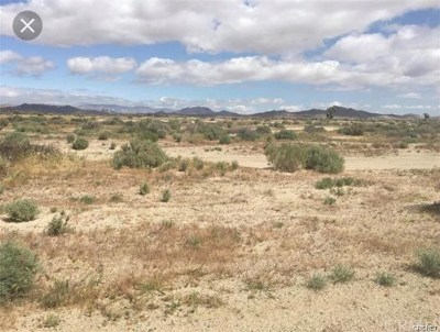 Barstow Residential Lots & Land For Sale: 4890610 Apn