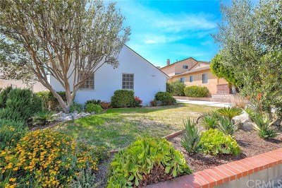 Burbank Single Family Home Active Under Contract: 2627 N Myers Street