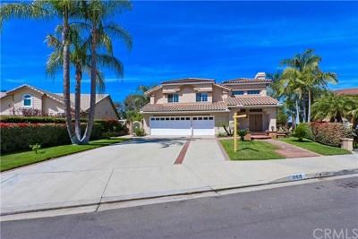 Yorba Linda Single Family Home For Sale: 21610 Dunrobin Way