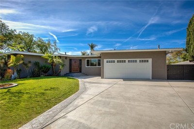 Garden Grove Single Family Home Active Under Contract: 9941 Beverly Lane